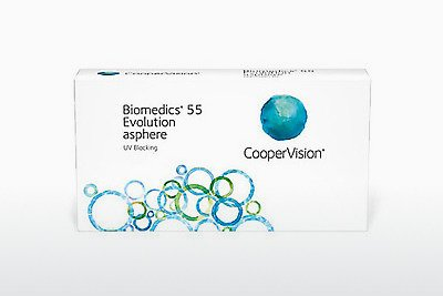 контактни лещи Cooper Vision Biomedics 55 Evolution BMEU6
