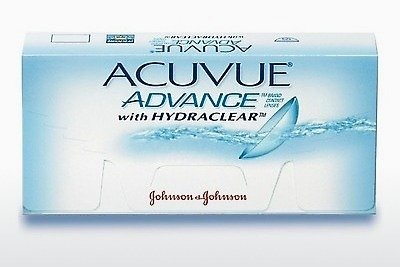 контактни лещи Johnson & Johnson ACUVUE ADVANCE with HYDRACLEAR AVG-6P-REV