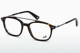 очила Web Eyewear WE5219 052 - кафяви, Dark, Havana