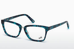 очила Web Eyewear WE5229 090 - сини, Shiny