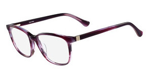 Calvin Klein CK5885 609 STRIPED WINE