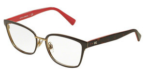 Dolce & Gabbana DG1282 1290 PALE GOLD/BROWN