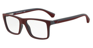 Emporio Armani EA3034 5616 TOP BORDEAUX ON DK GREY RUBBER
