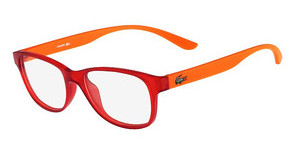 Lacoste L3805B 630 RED MATT WITH PHOSPHO TEMPLES