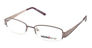 Vienna Design UN440 02 matt purple-matt light brown
