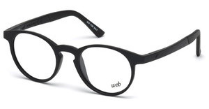 Web Eyewear WE5186 001 schwarz glanz