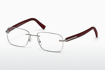 очила Ermenegildo Zegna EZ5003 015 - сиви, Shiny, Matt