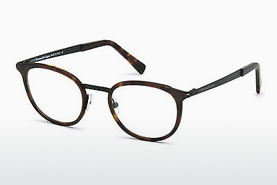 очила Ermenegildo Zegna EZ5048 053 - цвят хавана, Yellow, Blond, Brown