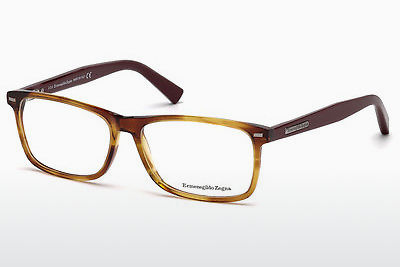 очила Ermenegildo Zegna EZ5056 069 - бордо, Bordeaux, Shiny
