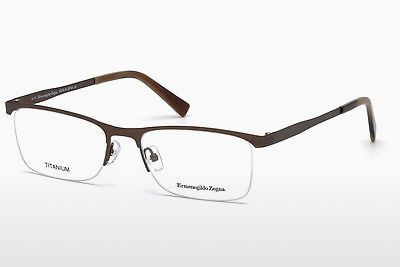 очила Ermenegildo Zegna EZ5079 034 - бронз, Bright, Shiny