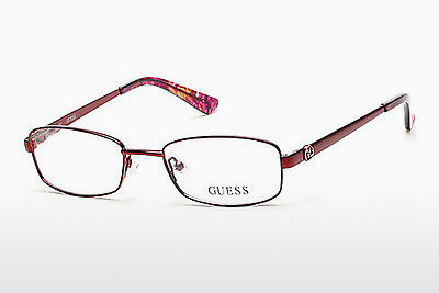 очила Guess GU2524 070 - бордо, Bordeaux, Matt