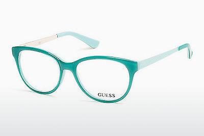 очила Guess GU2539 093 - зелени, Bright, Shiny