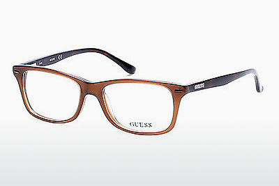 очила Guess GU2579 045 - кафяви, Bright, Shiny