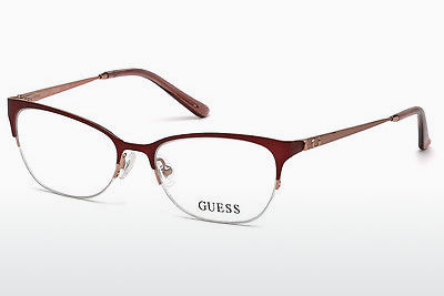 очила Guess GU2584 070 - бордо, Bordeaux, Matt