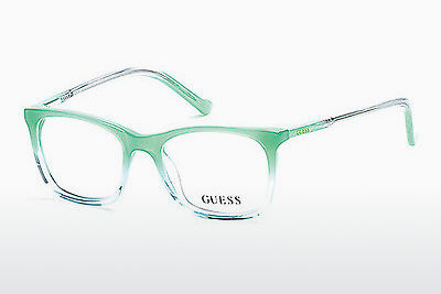 очила Guess GU9164 093 - зелени, Bright, Shiny