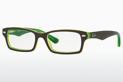 очила Ray-Ban Junior RY1530 3665 - кафяви, зелени