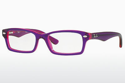 очила Ray-Ban Junior RY1530 3666 - пурпурни, Violet