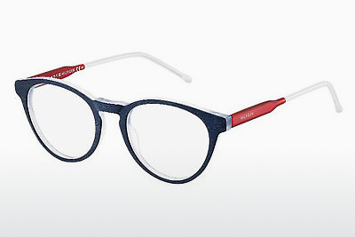 очила Tommy Hilfiger TH 1393 QRE - сини, червени