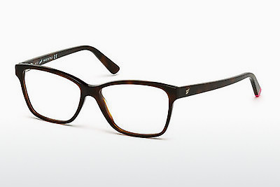 очила Web Eyewear WE5182 052 - кафяви, Dark, Havana