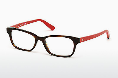 очила Web Eyewear WE5183 052 - кафяви, Dark, Havana