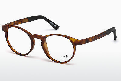 очила Web Eyewear WE5186 053 - цвят хавана, Yellow, Brown