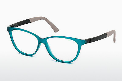 очила Web Eyewear WE5189 088 - сини, Turquoise, Matt