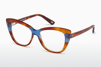 очила Web Eyewear WE5197 053 - цвят хавана, Yellow, Blond, Brown