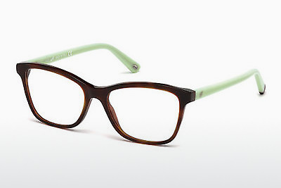 очила Web Eyewear WE5200 053 - цвят хавана, Yellow, Blond, Brown