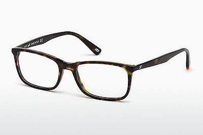 очила Web Eyewear WE5202 052 - кафяви, Dark, Havana