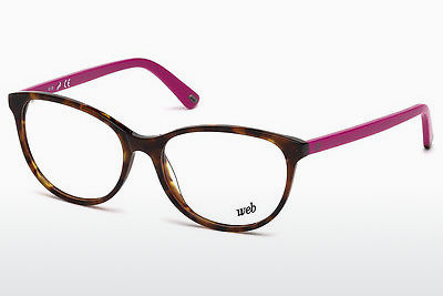 очила Web Eyewear WE5214 053 - цвят хавана, Yellow, Blond, Brown