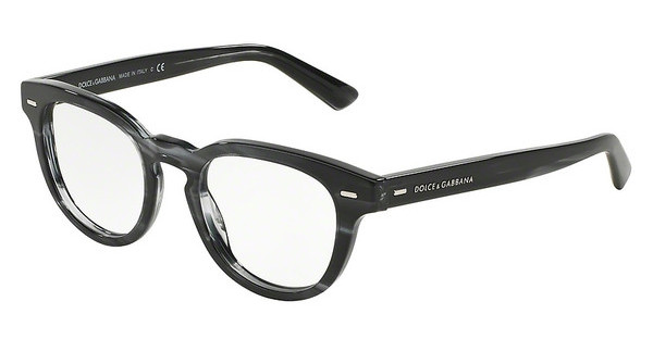 Dolce & Gabbana DG3225 2924 STRIPED ANTHRACITE