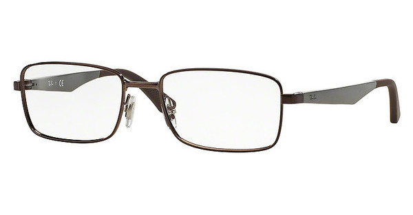 Ray-Ban RX6333 2511 SHINY DARK BROWN