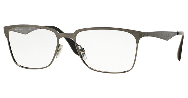 Ray-Ban RX6344 2553 BRUSHED GUNMETAL