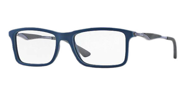 Ray-Ban RX7023 5260 TOP BLUE ON MATTE DARK GREY