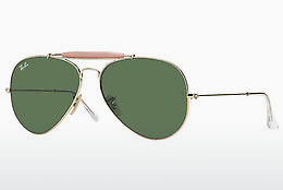 слънчеви очила Ray-Ban OUTDOORSMAN II (RB3029 L2112) - златисти