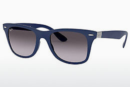 слънчеви очила Ray-Ban WAYFARER LITEFORCE (RB4195 60158G) - сини