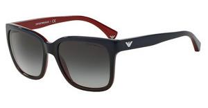 Emporio Armani EA4042 53478G GREY GRADIENTBLUE GRADIENT RED ON RED