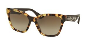 Miu Miu MU 06RS 7S01X1 BROWN GRADIENTLIGHT HAVANA