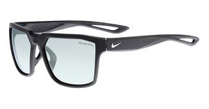 Nike NIKE BANDIT R EV0949 003 MATTE BLACK/SILVER WITH GREY W/ SUPER SILVER FLASH LENS LENS