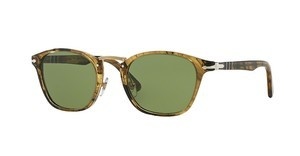 Persol PO3110S 10214E GREENLIGHT BROWN STRIPED