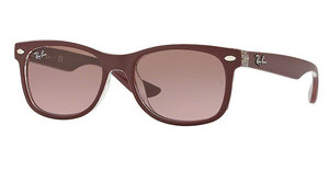 Ray-Ban Junior RJ9052S 702414 VIOLET GRADIENT BROWNMATTE BORDO' ON TRASPARENT