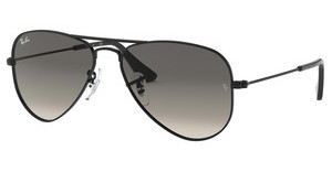 Ray-Ban Junior RJ9506S 220/11 LIGHT GREY GRADIENT DARK GREYSHINY BLACK