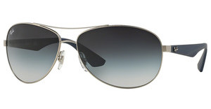 Ray-Ban RB3526 019/8G GREY GRADIENTMATTE SILVER