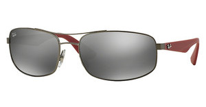 Ray-Ban RB3527 029/6G GREY MIRROR SILVERMATTE GUNMETAL