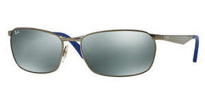 Ray-Ban RB3534 029/40 GREEN MIRROR SILVERMATTE GUNMETAL