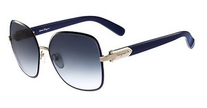 Salvatore Ferragamo SF150S 727 LIGHT GOLD/BLUE
