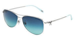 Tiffany TF3044 60014S AZURE GRADIENT BLUESILVER