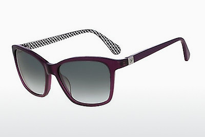 слънчеви очила Diane von Fürstenberg DVF600S COURTNEY 513 - пурпурни