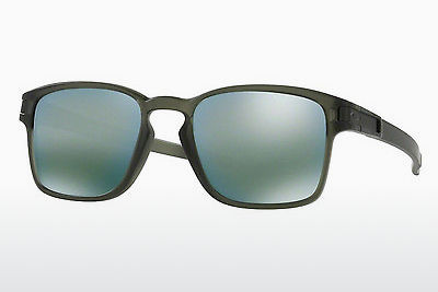слънчеви очила Oakley LATCH SQUARED (OO9353 935308) - зелени, Olive