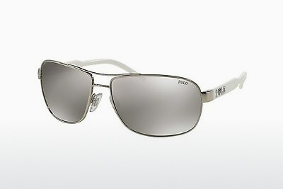 слънчеви очила Polo PH3053 90018V - Silver-mirror-silver